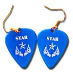 Custom Guitar Pick Earrings (Pair)