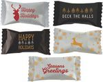 Custom Assorted Sour Candies in Season's Greetings wrappers