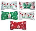 Custom Assorted Sour Candies in Merry & Bright wrappers