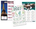 Custom Full Color Custom Calendar (12