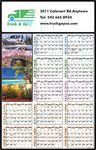 Custom Four Seasons Wall Calendar