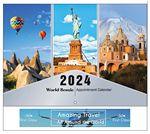 Custom World Scenic Appointment Calendar