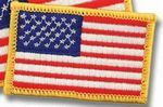 Custom Small American Flag Patch
