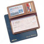 Custom Bonded Leather Chek-Keeper I Checkbook Cover