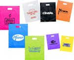 Custom Frosted Die Cut Bags (12