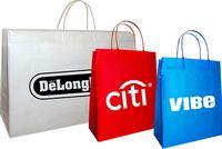 """Clip Loop Shopper Bag (8""""x4""""x10"""")"""