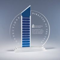 Forte Perpetual Crystal Plaque Plate