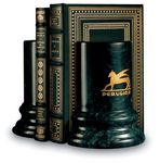 Custom Colonnade Marble Bookends