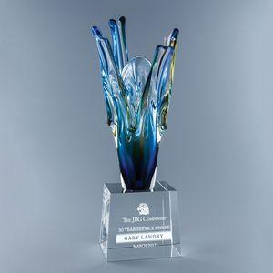 Euphoria Art Glass/Optic Crystal Award