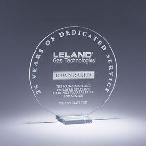 6.25 Serenity Crystal Award