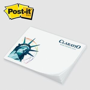 "Custom Printed Post-it® Notes (3""x4"") 25 Sheets/ 4 Color"