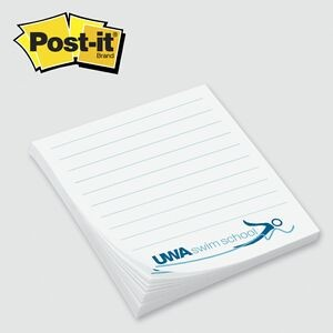 "Custom Printed Post-it® Notes (2 3/4""x3"") 25 Sheets/ 1 Color"