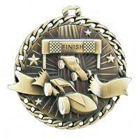 "Derby Car Stock Medal (2"")"