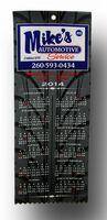 "Custom Sublimated Calendar Ribbon (4"" X 10"")"