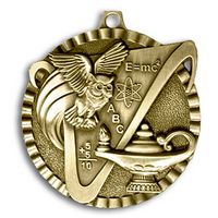 """Knowledge Stock Medal (2"""")"""