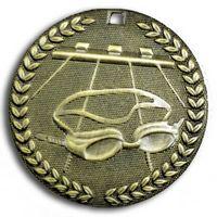 "Swimming Stock Medal (2"")"