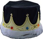 Custom Red & Gold Crown w/ Fur Edge (6
