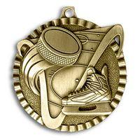 """Hockey Stock Medal (2"""")"""