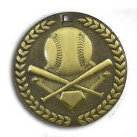 "Baseball Stock Medal (2"")"