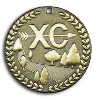 "Cross Country Stock Medal (2"")"