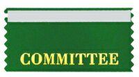 Committee Stock Horizontal Badge Ribbon