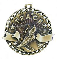 "Track Stock Medal (2"")"