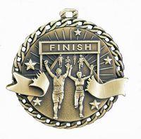 """Running Stock Medal (2"""")"""