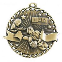 """Wrestling Stock Medal (2"""")"""