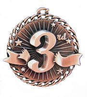 "3rd Place Stock Medal (2"")"