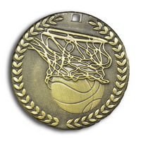 "Basketball Stock Medal (2"")"