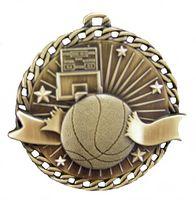 """Basketball Stock Medal (2"""")"""