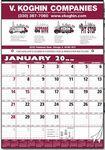 Custom Contractor/Production Scheduling 12 Sheet Calendar
