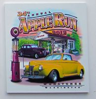 Aluminum ID Plate/ Dash Plaque falling between 7-9.9 sq. in w/ a Full Color, Sublimated imprint.