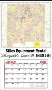 Custom Imprinted New Mexico Wall Calendars