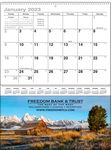 Custom Natures Majesty Single Pocket Calendar