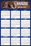 Custom Year-In-View Full Color Large Memo Calendar