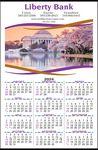 Custom Full Color Imprint Custom Year-In-View Calendar
