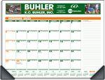 Custom Deskmate Full Color Custom Color Desk Pad Calendar