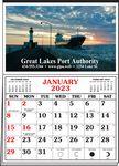 Custom Full Color Half Apron Calendar