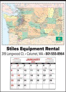 Custom Imprinted Washington Wall Calendars