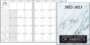 Large Monthly Wire Bound Academic Planner