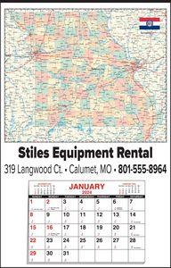 Custom Imprinted Missouri Wall Calendars