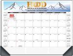 Custom Deskmanager Desk Pad Full-Color Calendar - With Corners