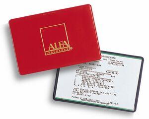auto insurance card holder l30 ideastage promotional products - Insurance Card Holder