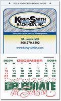 Kwik-Stik Grand Textured Vinyl Calendar