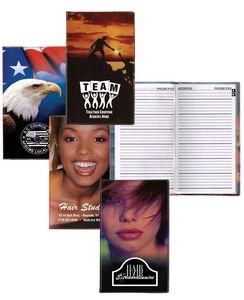 Stock Full Color Salon Cover w/ Address Book Insert