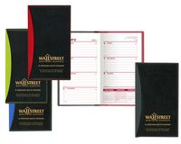 Soft Cover 2 Tone Vinyl Geneva Series Weekly Planner w/o Map / 1 Color