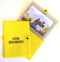 The Protector Document & Photo Holder