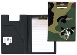 Custom Imprinted Army National Guard Camouflage Clipboards