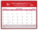 Custom Super Economy Calendar Pad w/ Clear Pocket